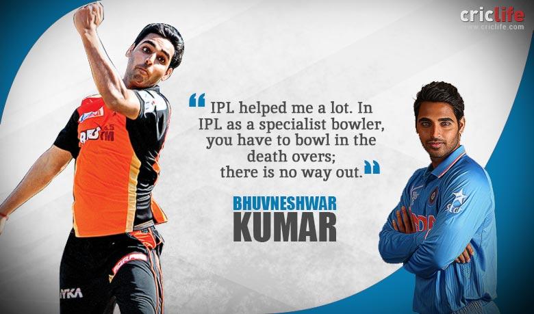 Bhuvneshwar kumar quotes