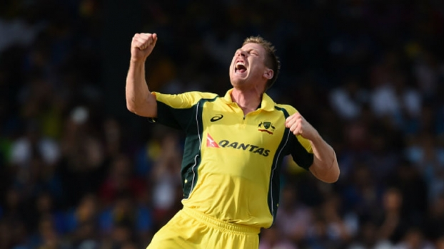 Watch James Faulkner take hat-trick against Sri Lanka in the 2nd ODI