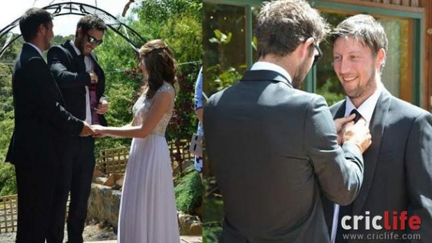 glenn maxwell shares pictures of his brother�s wedding